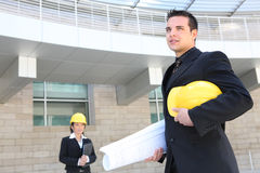Handsome Architect Man Royalty Free Stock Photography