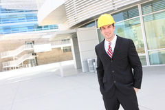 Handsome Architect at Site Stock Image