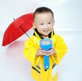 Handsome Asian  boy Stock Photography