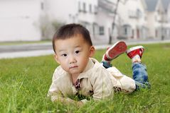 Handsome Asian  boy Royalty Free Stock Image