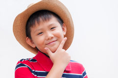 Handsome asian boy. Stock Images