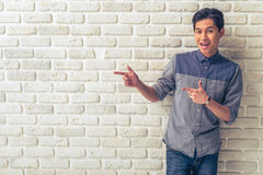 Handsome Asian guy Stock Photography