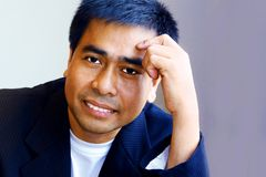 Handsome asian man Stock Images
