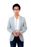 Handsome asian man standing Royalty Free Stock Photo