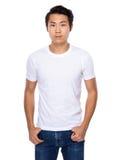 Handsome asian young man Stock Photos
