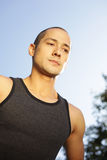 Handsome athlete Royalty Free Stock Photography