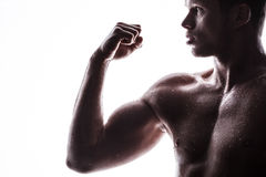 Handsome athlete Royalty Free Stock Image