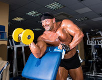 Handsome athletic man bodybuilder Royalty Free Stock Photo
