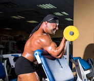 Handsome athletic man bodybuilder Royalty Free Stock Photography