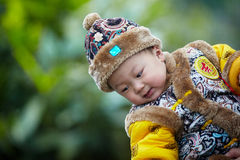 Handsome Baby Boy Royalty Free Stock Images