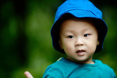 Handsome Baby Boy Stock Photo