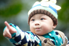 Handsome Baby Boy Stock Photography