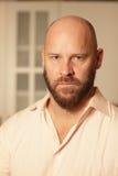 Handsome bald man Stock Photo