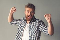 Handsome Bearded Man Royalty Free Stock Photo