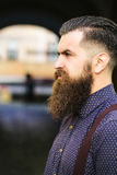 Handsome bearded man Royalty Free Stock Photo
