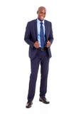 Handsome black businessman Royalty Free Stock Photos