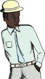 Handsome Black Businessman Royalty Free Stock Image