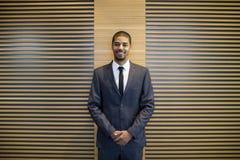 Handsome black businessman Stock Images