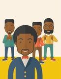 Handsome black businessmen Stock Image