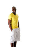 Handsome black male Stock Photo