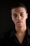 Handsome black man Stock Photography