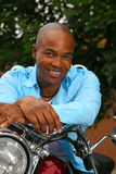 Handsome black man Stock Photos