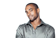 Handsome black man Royalty Free Stock Photography
