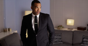 Free Handsome Black Man Wearing A Suit Royalty Free Stock Photo - 46926335