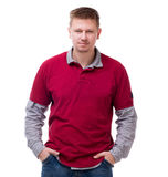 Handsome blond man Royalty Free Stock Image