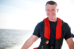 Handsome Boater Royalty Free Stock Photos