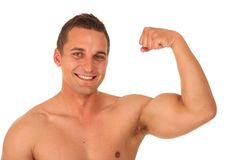 Handsome Bodybuilder Stock Photos
