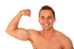 Handsome Bodybuilder Stock Photo