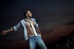 Handsome bodybuilder Royalty Free Stock Images