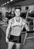 Handsome bodybuilder Royalty Free Stock Image