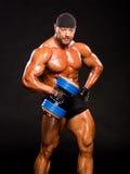 Handsome bodybuilder Stock Photo