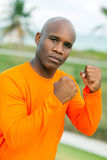 Handsome boxer man Royalty Free Stock Photography
