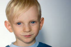 Handsome boy Stock Images