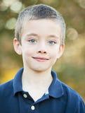 Handsome boy portrait outside Stock Image
