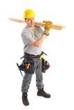 Handsome builder Stock Photos