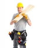 Handsome builder Stock Image