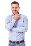 Handsome business guy Stock Images