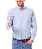 Handsome business guy Stock Image