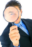 Handsome Business Investigator Stock Image