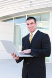 Handsome Business Man Stock Photography