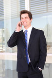 Handsome Business Man Royalty Free Stock Images