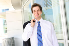 Handsome Business Man Stock Image