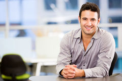 Handsome business man Stock Images