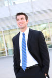 Handsome Business Man at Office Royalty Free Stock Photography