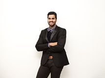 Business man smiling portrait Royalty Free Stock Photo