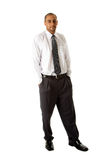 Handsome business man standing Stock Photo